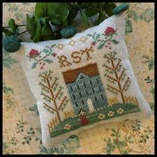 ABC Samplers (No.7 RST) by Little House Needleworks