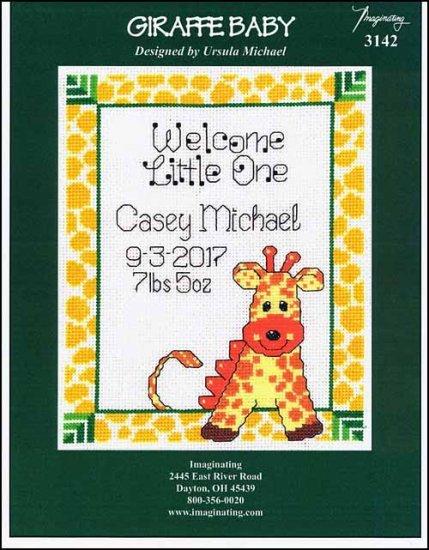 -5- 218 Giraffe Baby by Imaginating