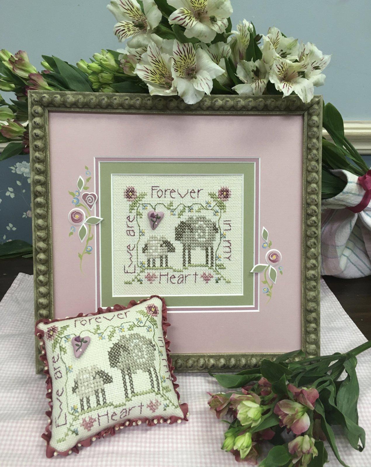 -16- 419 Ewe Are Forever in My Heart Kit by Shepherd's Bush