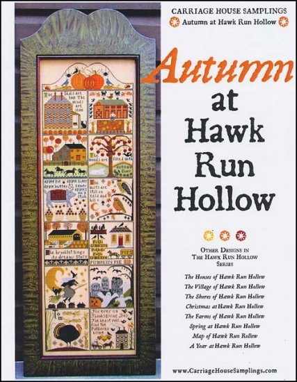 Autumn at Hawk Run Hollow by Carriage House Samplings