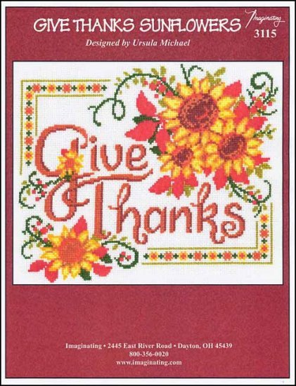 -4- 1119 Give Thanks Sunflowers by Imaginating