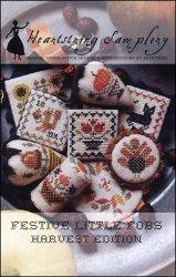 Festive Little Fobs Harvest Edition by Heartstring Samplery