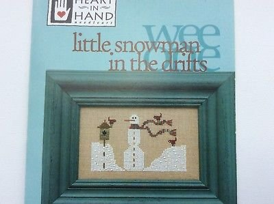 Wee One Little Snowman in the Drifts by Heart in Hand