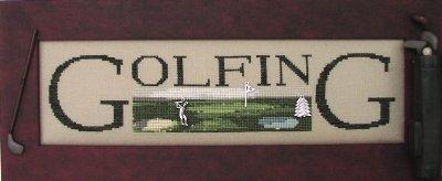 -17- 620 Golfing by Hinzeit