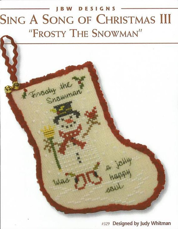 Sing a Song of Christmas 3 Frosty the Snowman by JBW designs