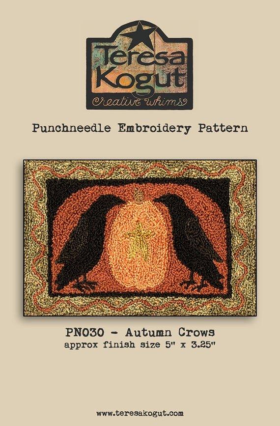 -19- 1219 Autumn Crows (PN) by Teresa Kogut