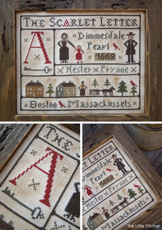 The Scarlet Letter by the Little Stitcher