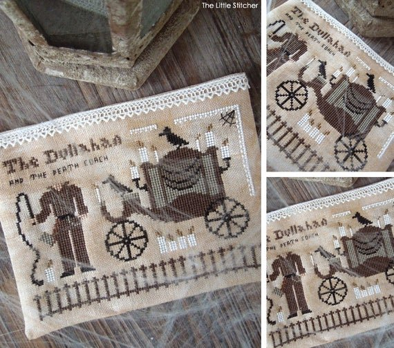 The Dullahan and the Death Coach by the Little Stitcher