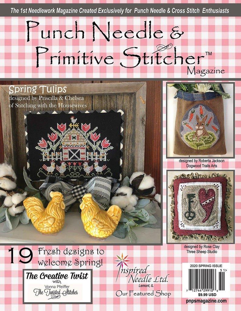 -18- 320 Spring 2020 Punch Needle & Primitive Stitcher Magazine