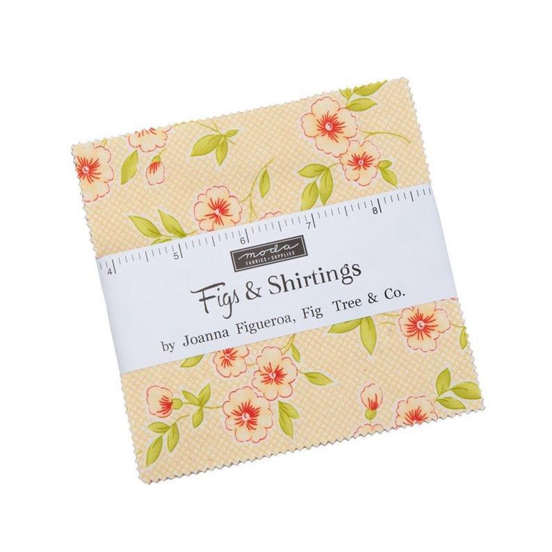 Figs & Shirting 5 Charm Pack (42pcs)