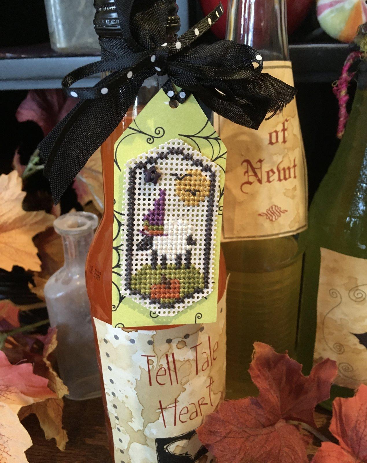 -16- 720 Halloween Sheep Tag Kit by Shepherd's Bush