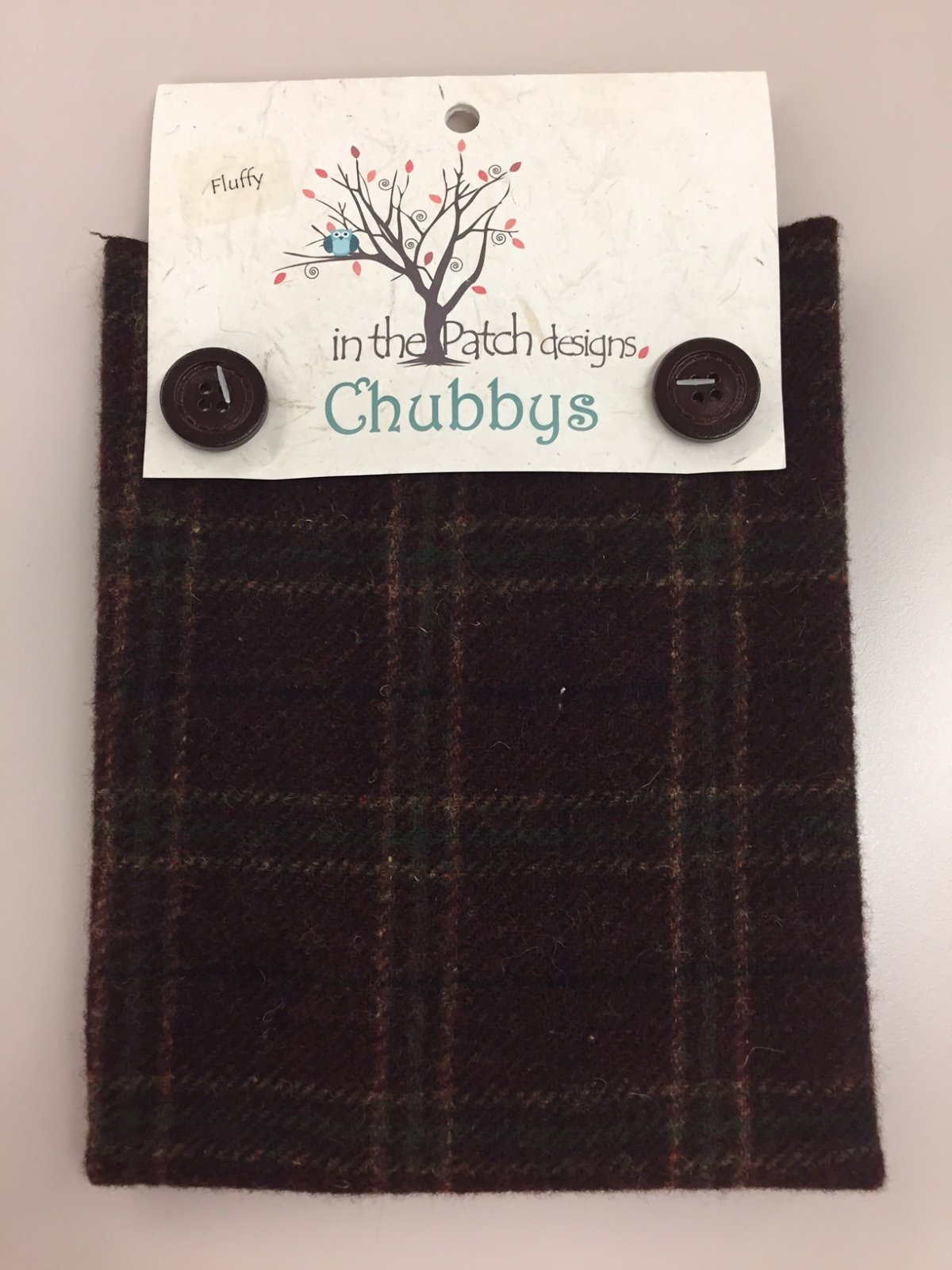 Bordeaux-Fluffy (Chubby) by In the Patch Designs