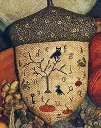 Gathering Acorns by With Thy Needle & Thread