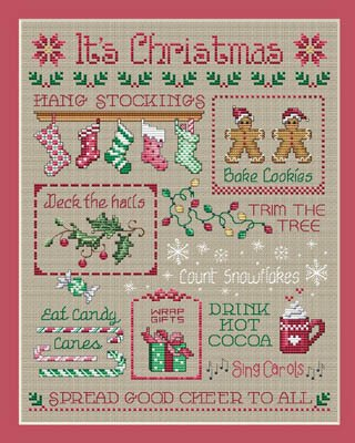 It's Christmas by Sue Hillis