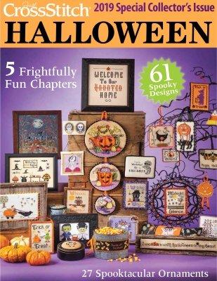 -18- 719 Just Cross Stitch Magazine 2019 Halloween Edition