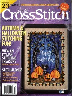 -18- 920 Just Cross Stitch Magazine September/October 2020