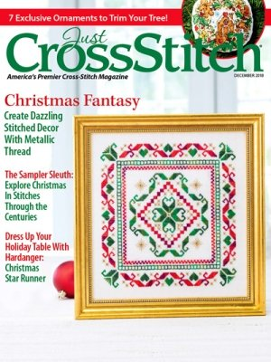 -18- 1118 Just Cross Stitch Magazine December 2018