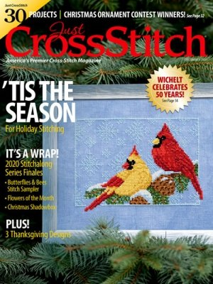 -18- 1120 Just Cross Stitch Magazine December 2020