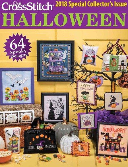 Just Cross Stitch Magazine 2018 Halloween Edition