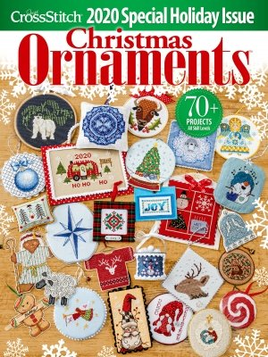 -18- 920 Just Cross Stitch Magazine 2020 Christmas Ornaments Edition