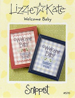 -12- 318 Welcome Baby by Lizzie Kate