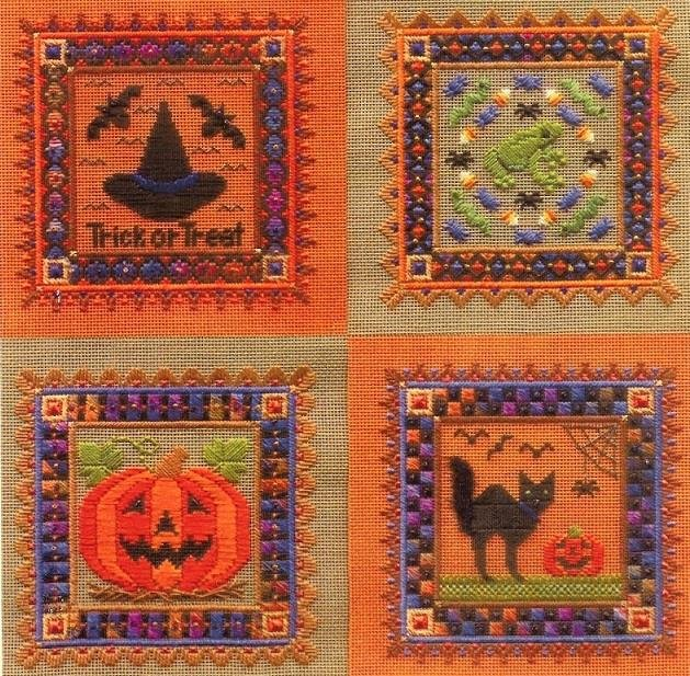 -11- 1119 Halloween Ornaments (NP) by Laura J. Perin Designs