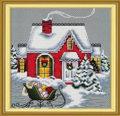 -3- 1219 Christmas House by Les Petites Croix de Lucie