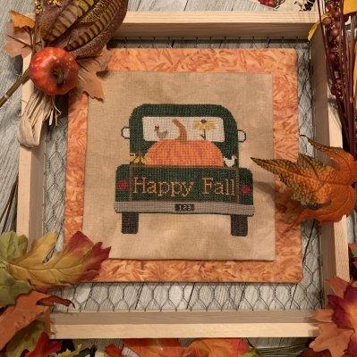 Rearview - Pumpkin by Needle Bling Designs