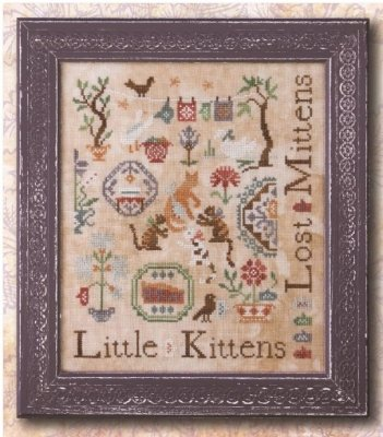 -7- 618 Three Little Kittens by Ink Circles