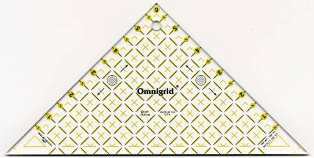Right Triangle 45 degree Omnigrid Ruler