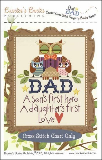 -5 1117 -Owl Dad by Brooke's Books
