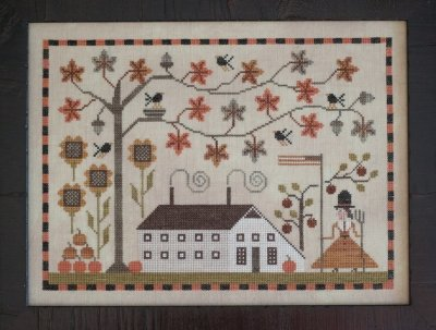 Betsy's Autumn By Plum Street Samplers
