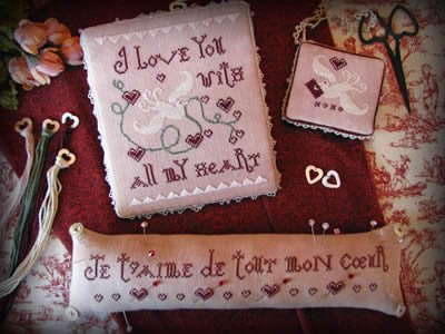 -5- 1219 Love Notes by Plum Street Samplers