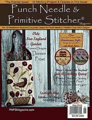 -18 -1119 May 2015 Punch Needle & Primitive Stitcher Magazine