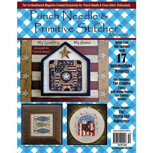 -18- 620 Summer 2020 Punch Needle & Primitive Stitcher Magazine