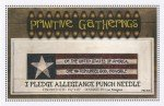 -19- 818 I Pledge Allegiance Punch Needle Pattern by Primitive Gatherings