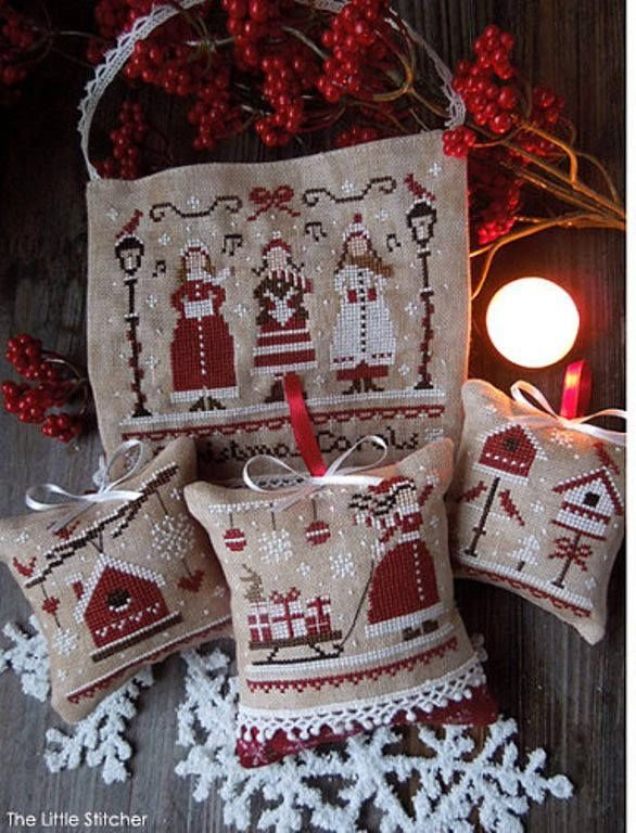 Red Christmas by The Little Stitcher