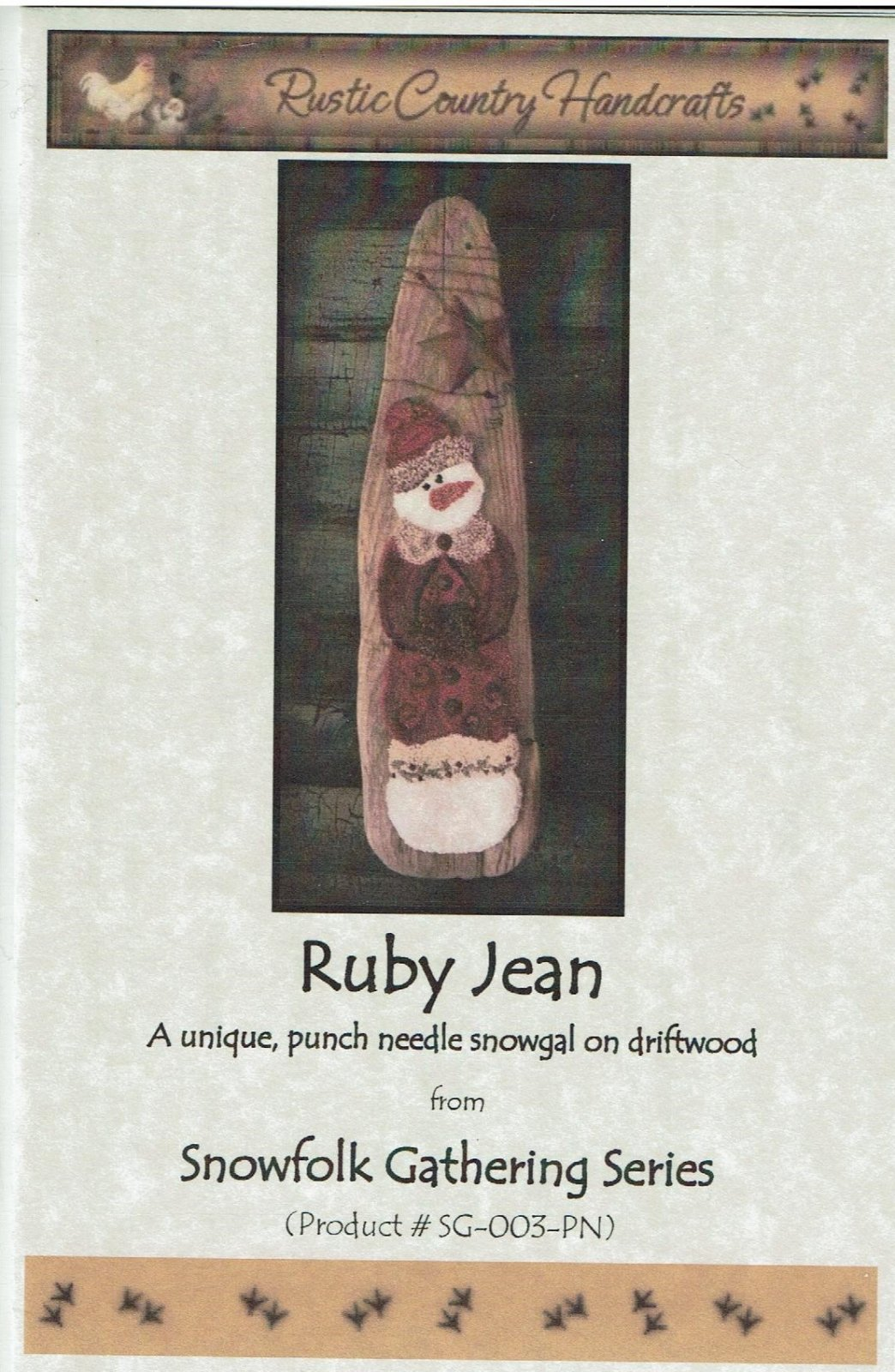 -19- 418 Ruby Jean (PN) by Rustic Country Handcrafts