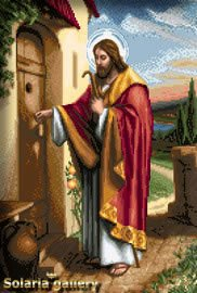 -17- 1119 Christ at the Door by Solaria Gallery