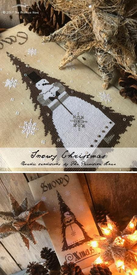 -3- 1217 Snowy Xmas by the Primitive Hare