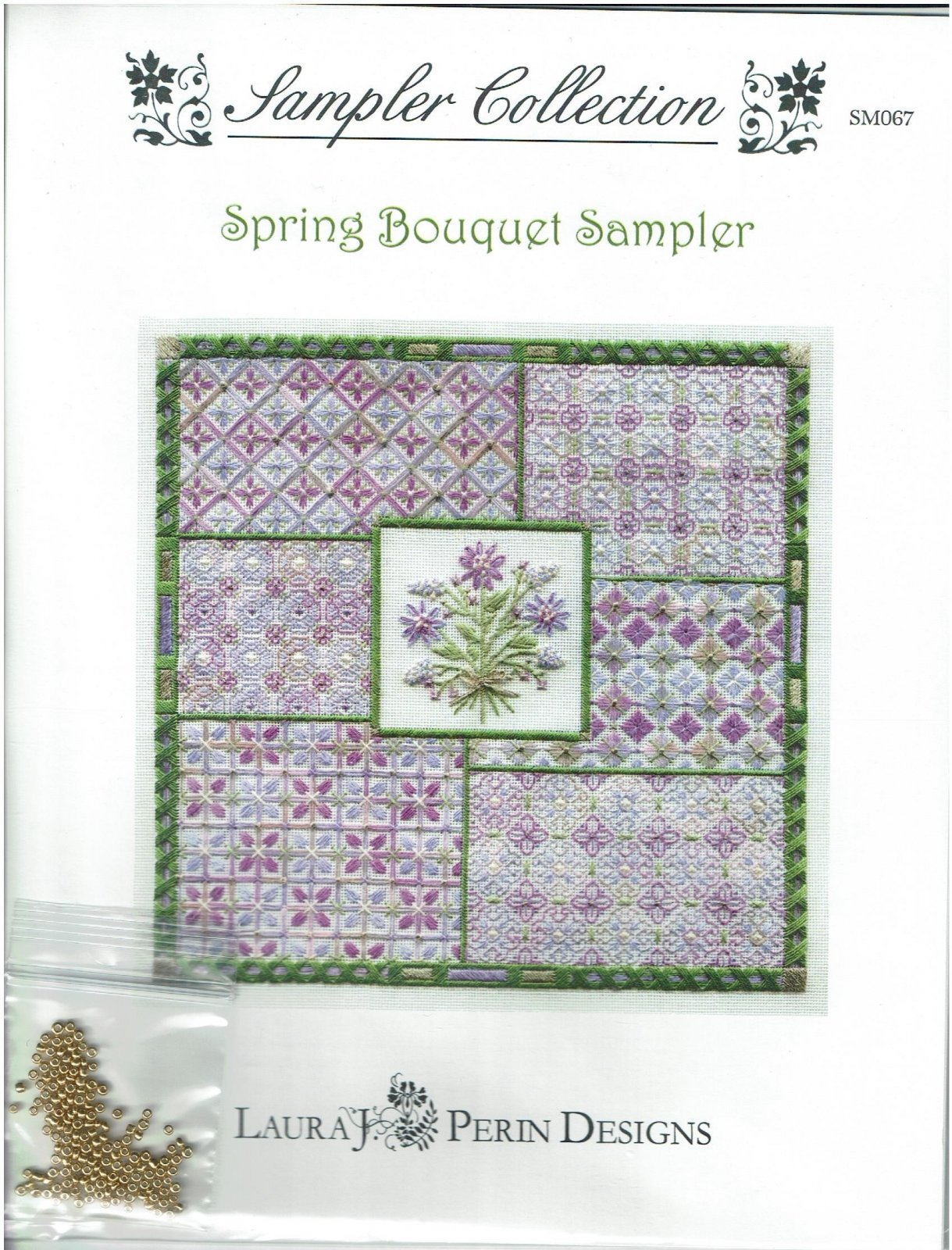 Spring Bouquet Sampler by Laura J Perin