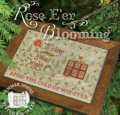 -3- 121 Rose E'er Blooming by  Summer House Stitche Workes