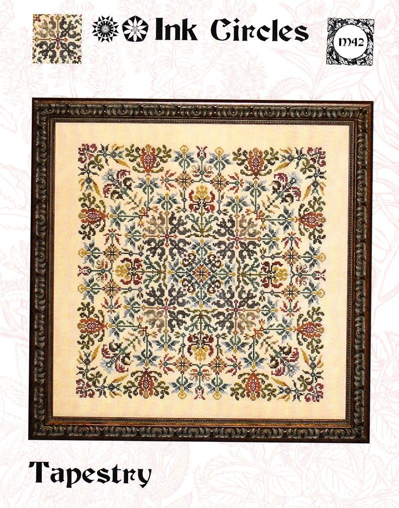 -17- 820 Tapestry by Ink Circles