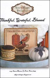 Thankful Grateful Blessed by Abby Rose Designs