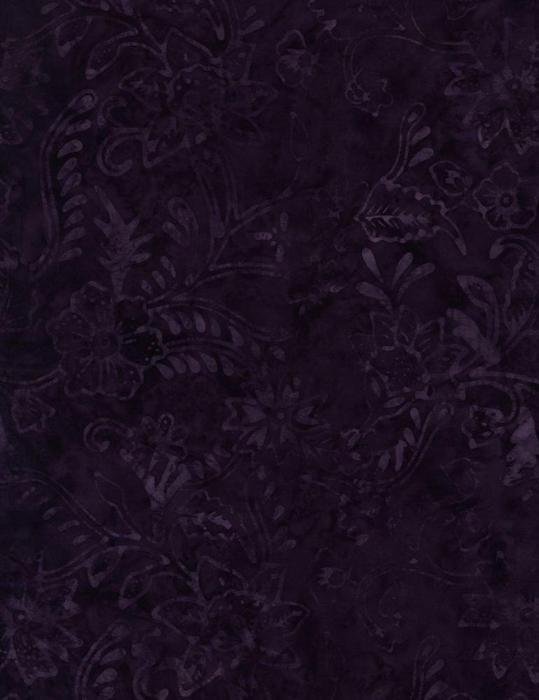 *1* 1220 B7142-Grape Tonga Batik (FANTASY)