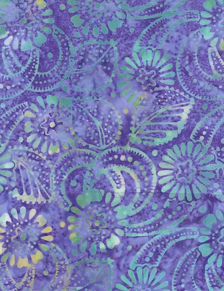 *1* 1220 B7516-Hyacinth Tonga Batik (FANTASY)