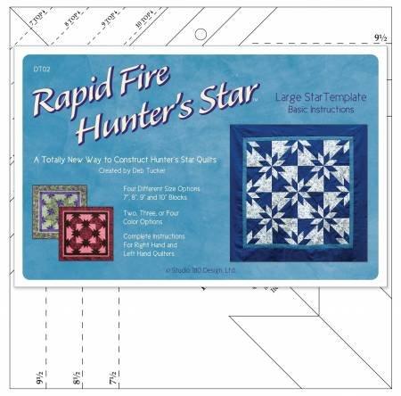 Large Rapid Fire Hunter's Star