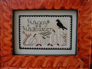 -4- 1219 White Pumpkin Patch by By the Bay Needleart