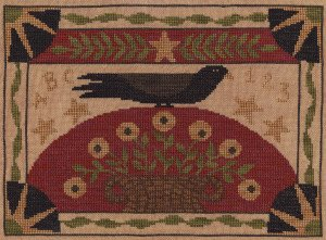 617 Crow & Basket by Teresa Kogut