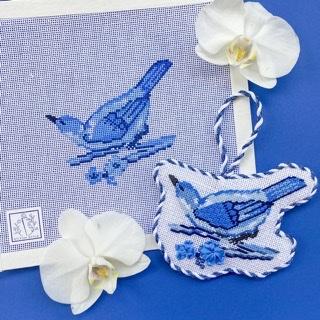 Chinoiserie Bird & Stitch Guide